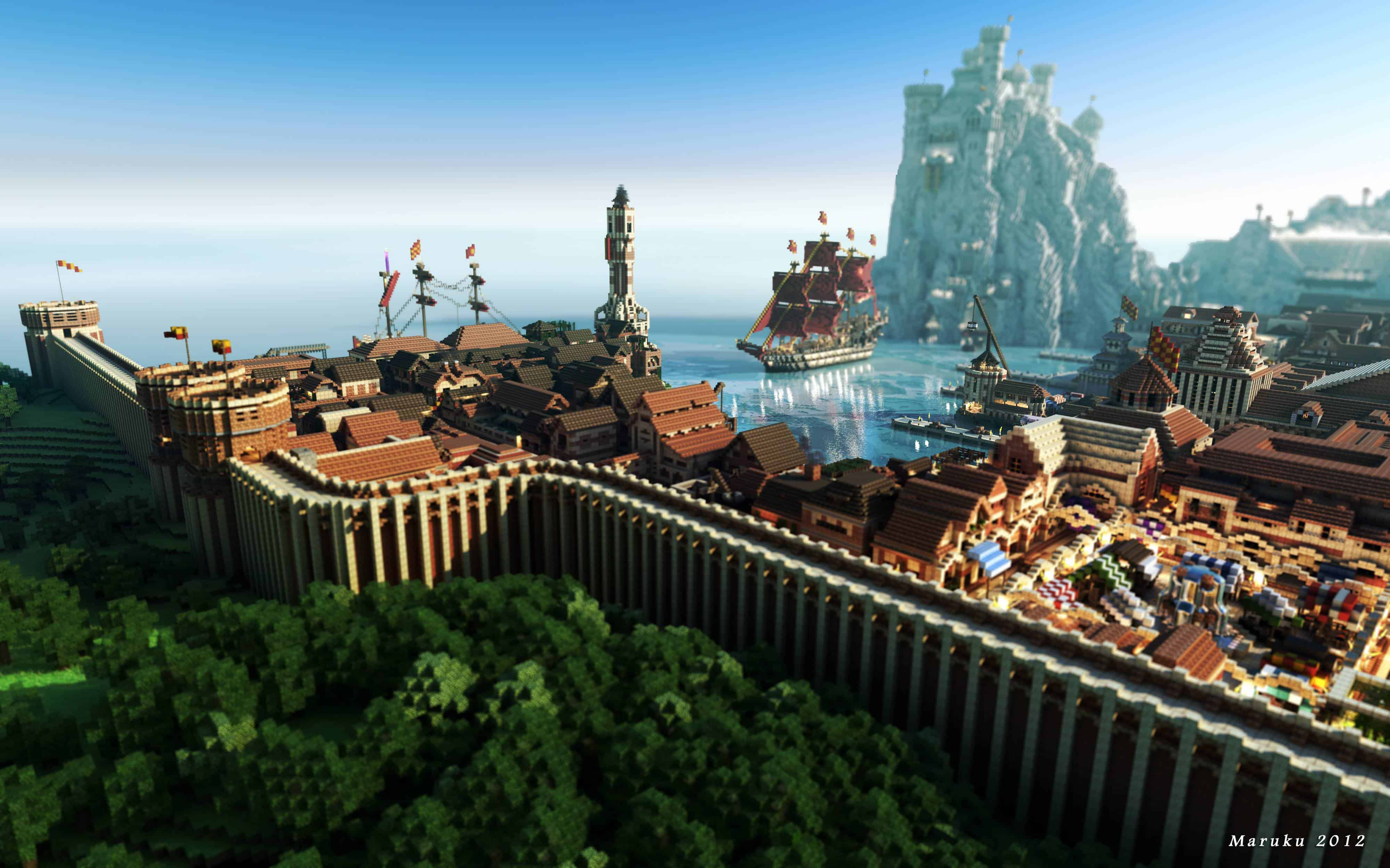 Blokkengame Minecraft niet te stoppen