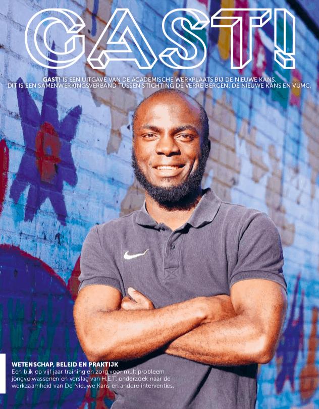 GAST! Magazine jongeren met multi-problematiek van Academische Werkplaats De Nieuwe Kans